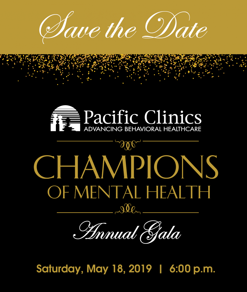 Save The Date For The 2019 Champions of Mental Health Gala