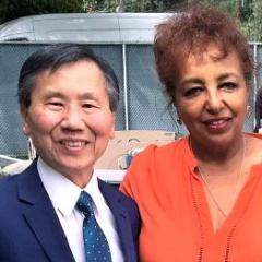 Pacific Clinics Children and Family Services division director Joseph Ho and Head Start division director Wassy Tesfa.