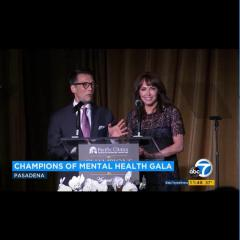 David Ono and Ellen Leyva host the Champions of Mental Health Annual Gala